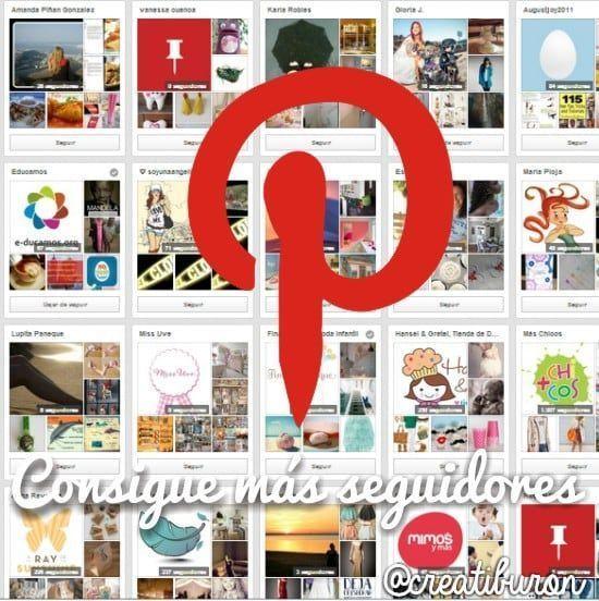 12 maneras para conseguir más seguidores en Pinterest