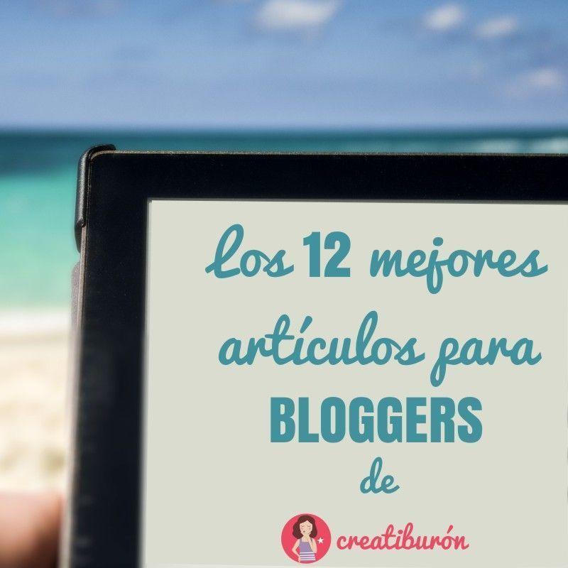 Los 12 mejores artículos para bloggers de Creatiburón