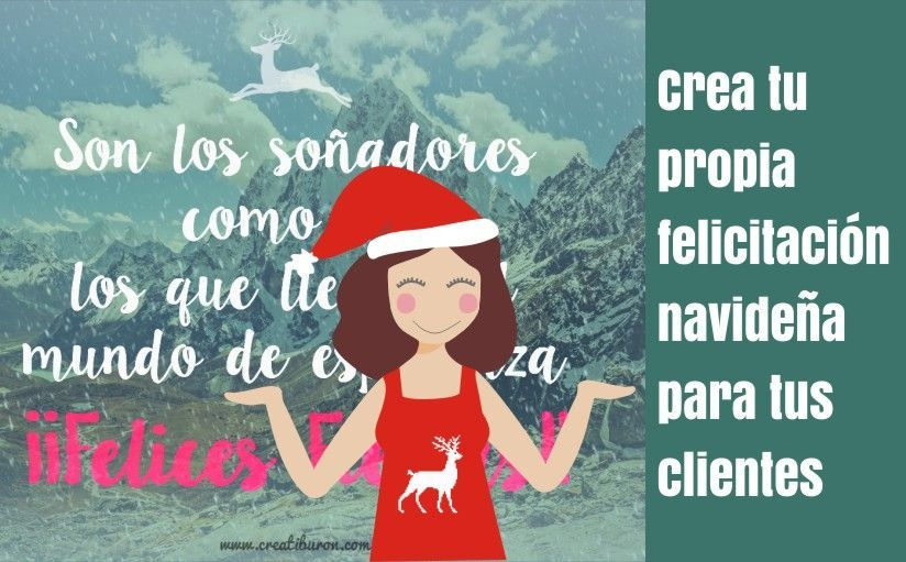 Crea un christmas para tus clientes en Navidad