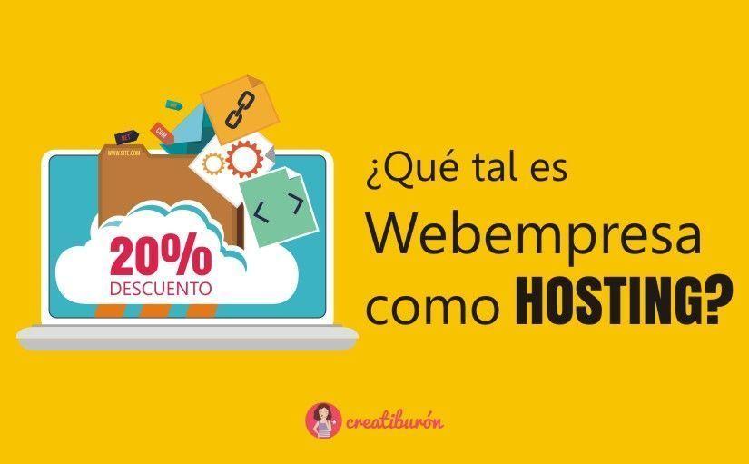 Cupon descuento Webempresa del 20%