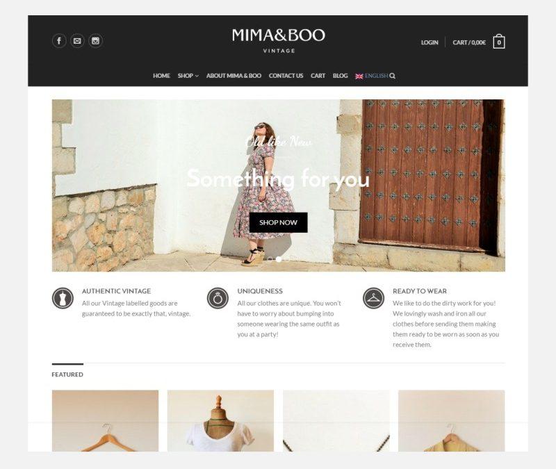 Tienda Online de moda Vintage: Mima & Boo