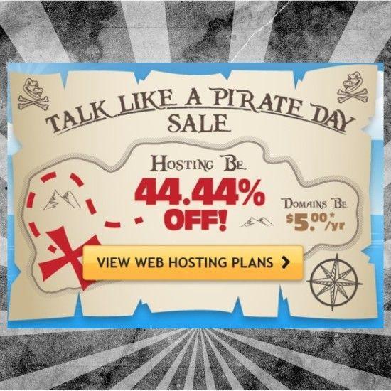 ¡Sólo hoy! 44 % de #descuento en hosting y dominios en #Hostgator