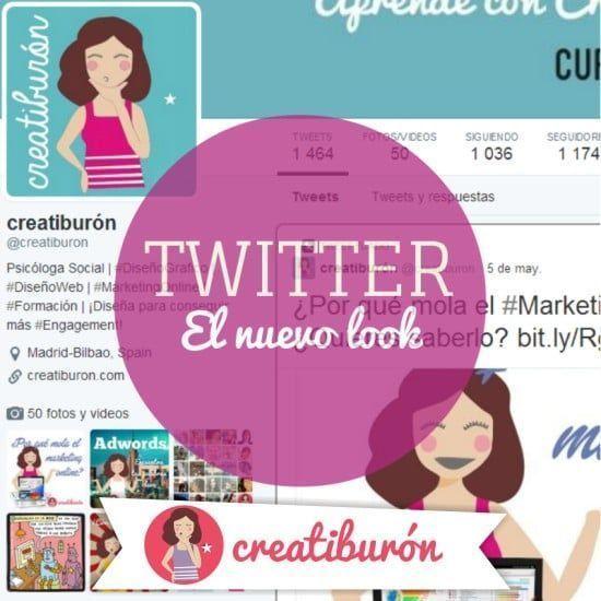 twitter nuevo look