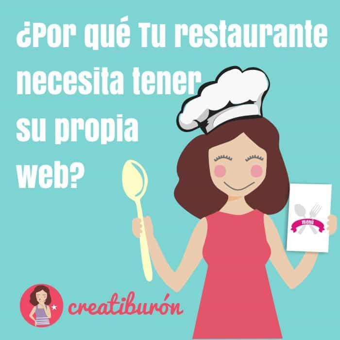 Necesitas una web para tu restaurante
