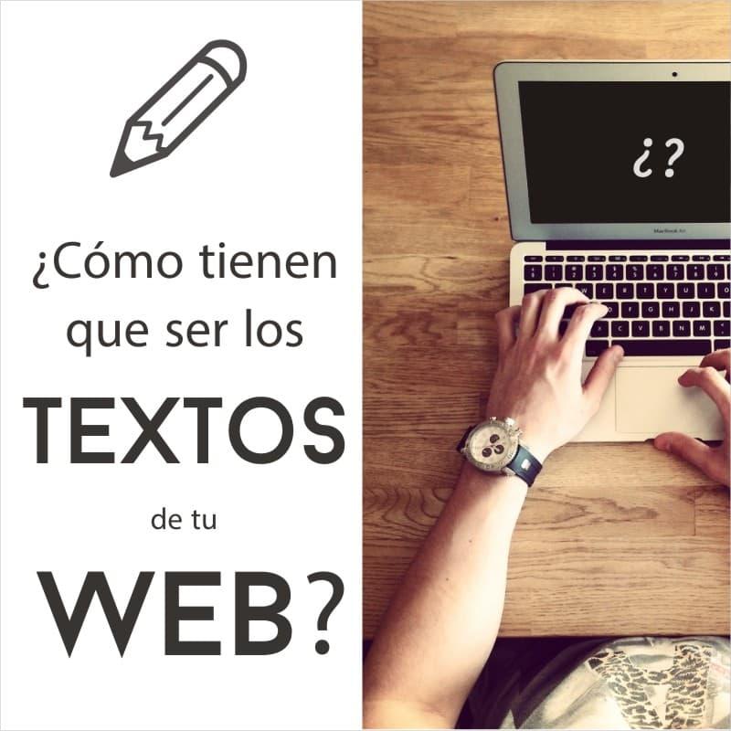 Cómo escribir los textos para mi web