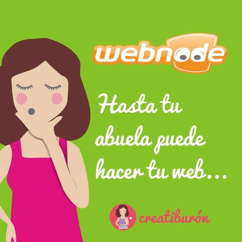 Webnode ¡Lo puede usar hasta tu abuela!