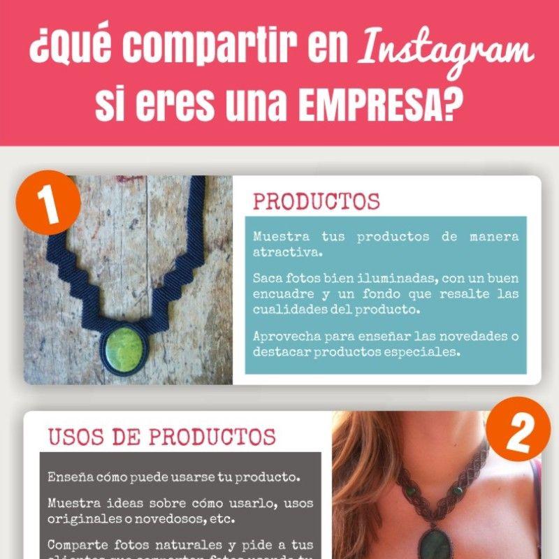 6 tipos de imágenes para compartir en Instagram para empresas