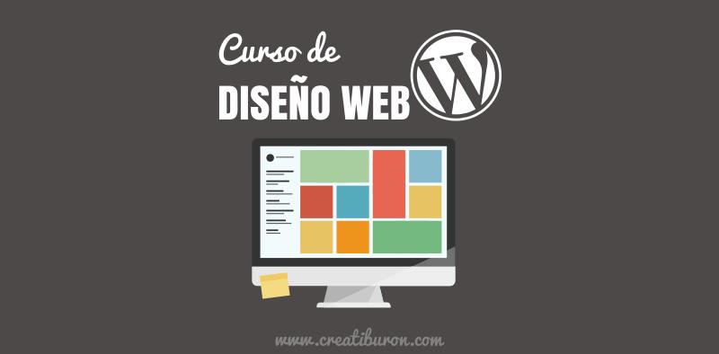Llega el curso de diseño web con WordPress de Creatiburón