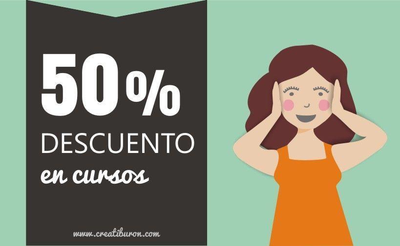 50% de descuento en los cursos de Creatiburón ¡Última semana!