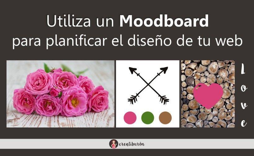 Utiliza un Moodboard para planificar el diseño de tu web