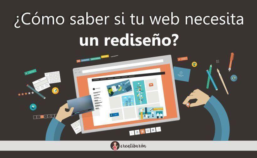 Rediseño web ¿Cómo saber si tu página lo necesita?