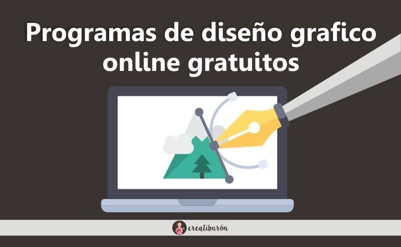 Programas de diseño gráfico online gratuitos ¡Empieza a diseñar!