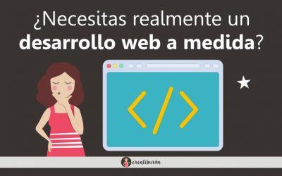 Desarrollo web totalmente a medida con WordPress ¿Cuándo es recomendable?