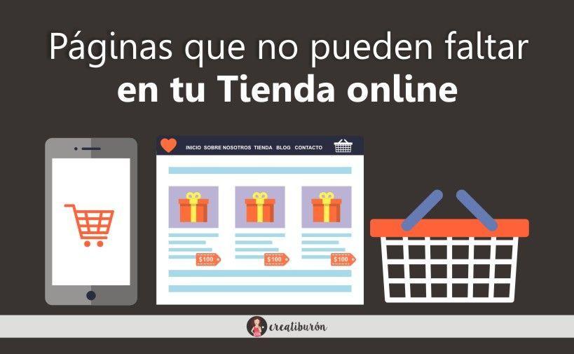 crear una web de venta online