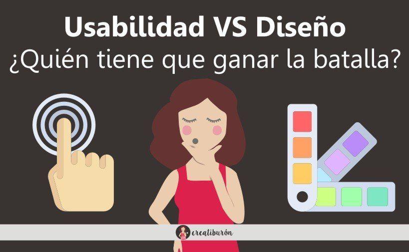 Usabilidad web vs diseño ¿Quién tiene que ganar la batalla?