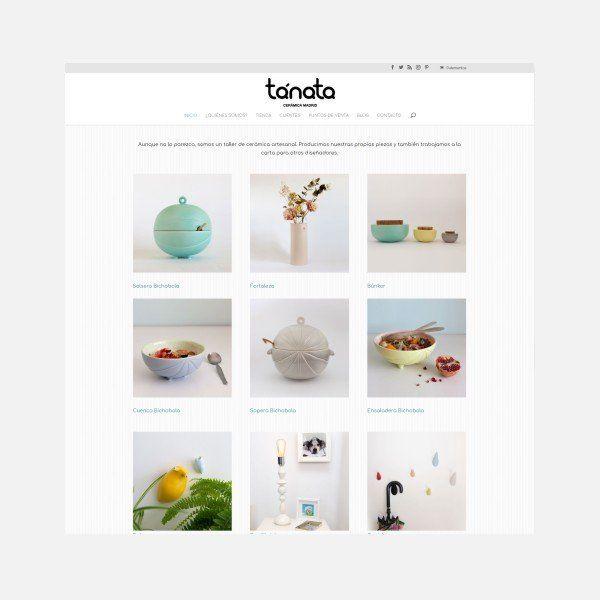 diseño tienda online cerámica