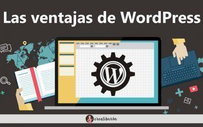 Ventajas de WordPress para crear tu web de empresa