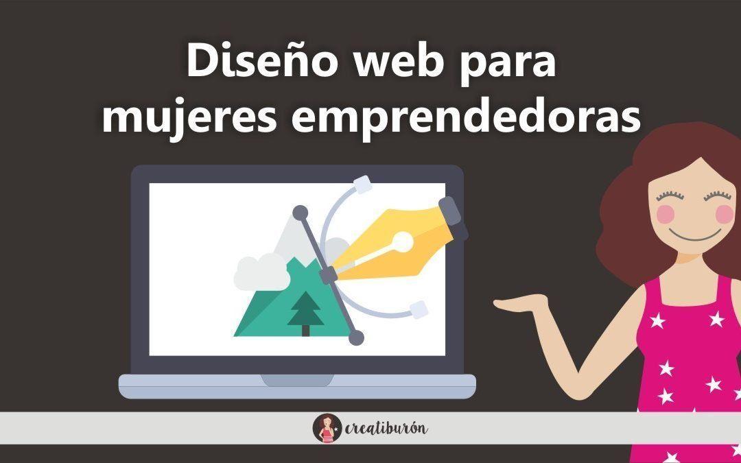 Diseño web para mujeres emprendedoras