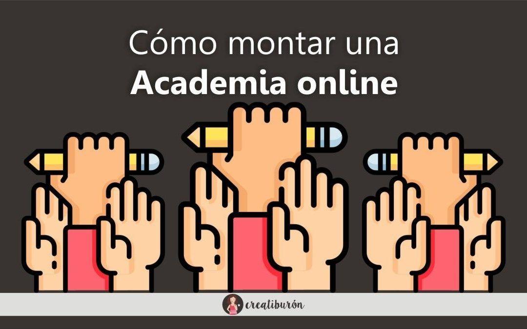 Cómo montar una Academia online