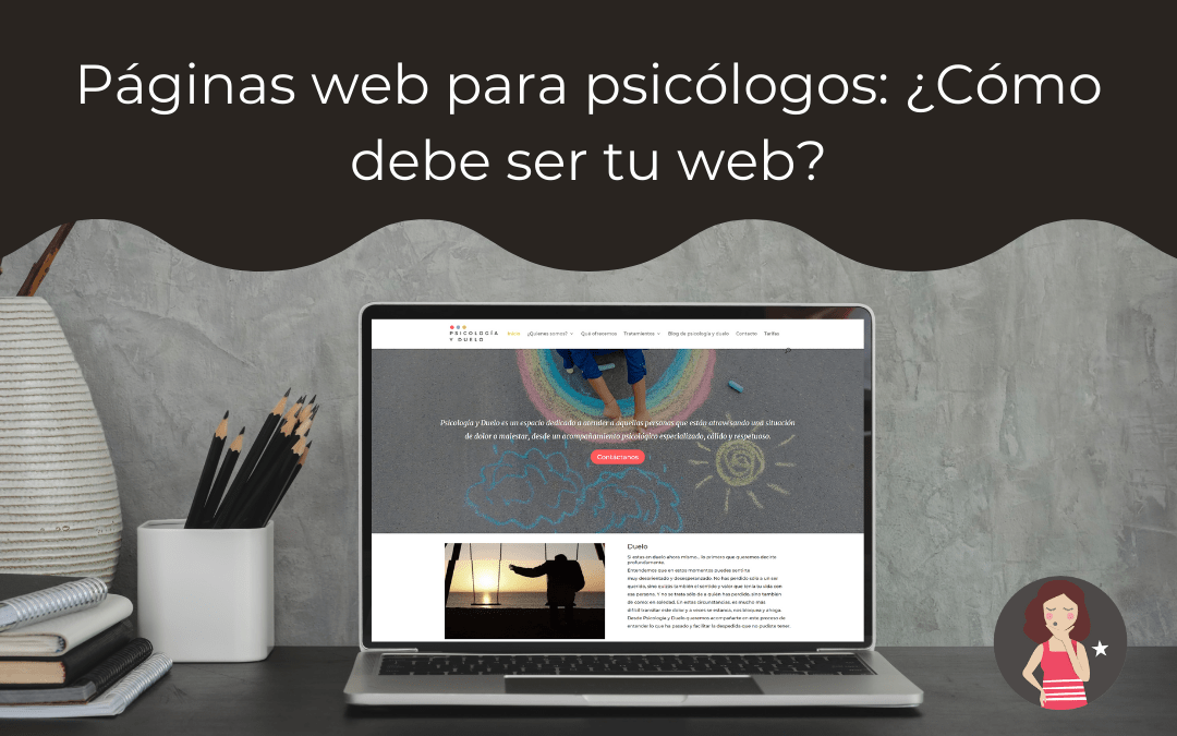 Páginas web para psicólogos