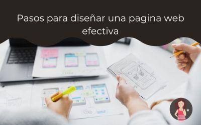 Pasos para diseñar una página web efectiva
